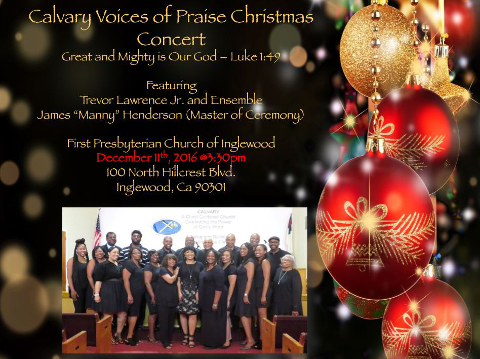 Alicia Lawrence and CALVARY VOICES OF PRAISE