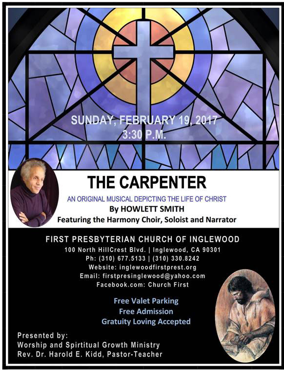 "Musical - ""The Carpenter"", Music at First Presbyterian Church of Inglewood"